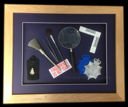Forensic instruments used by the police